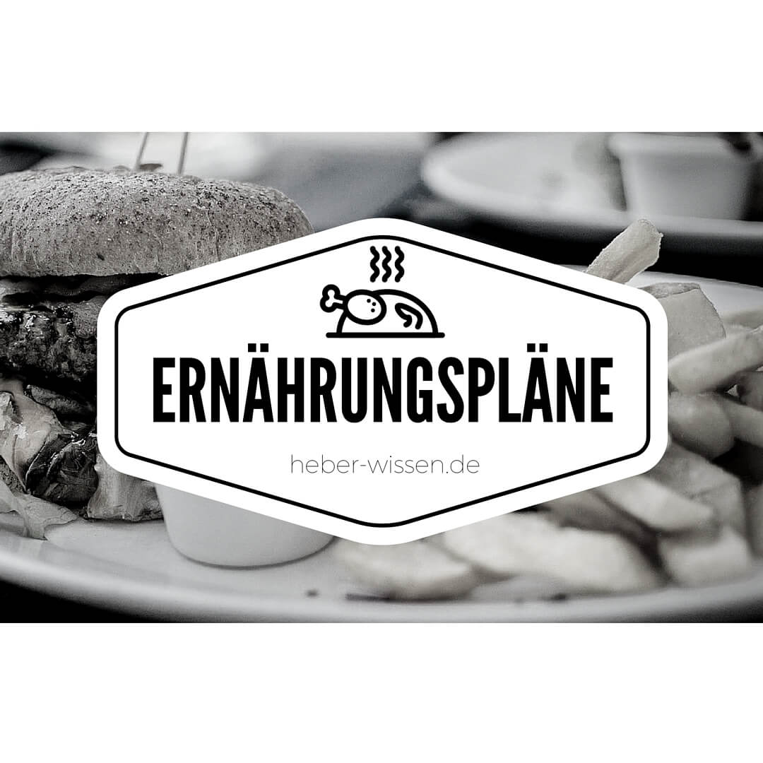 Unser Ernährungsplan schlägt jede Diät!